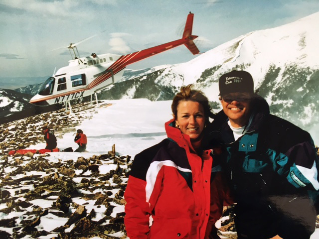 Dave and Nancy Marriner at the Yellowstone Club