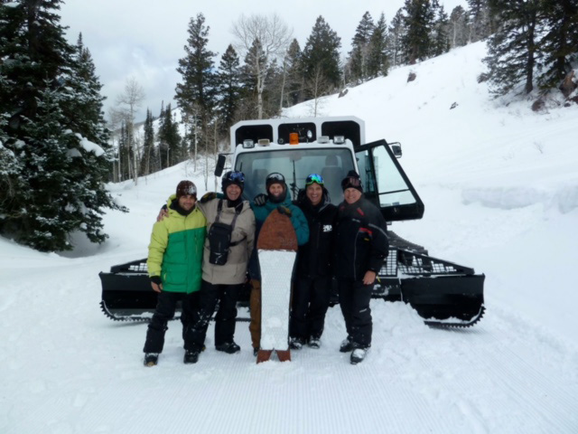 Dave Marriner and the Powder Mountain Crew